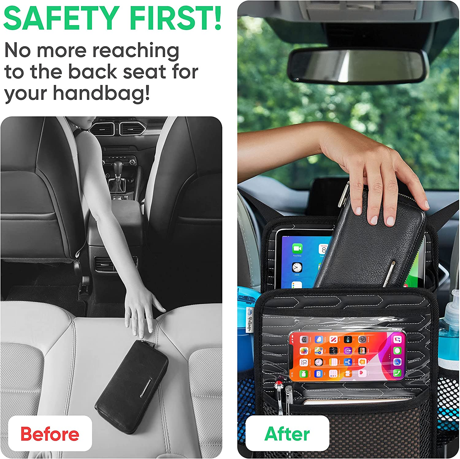 Seat Back Organizers Consoles & Organizers thegymyarraville.com.au ...