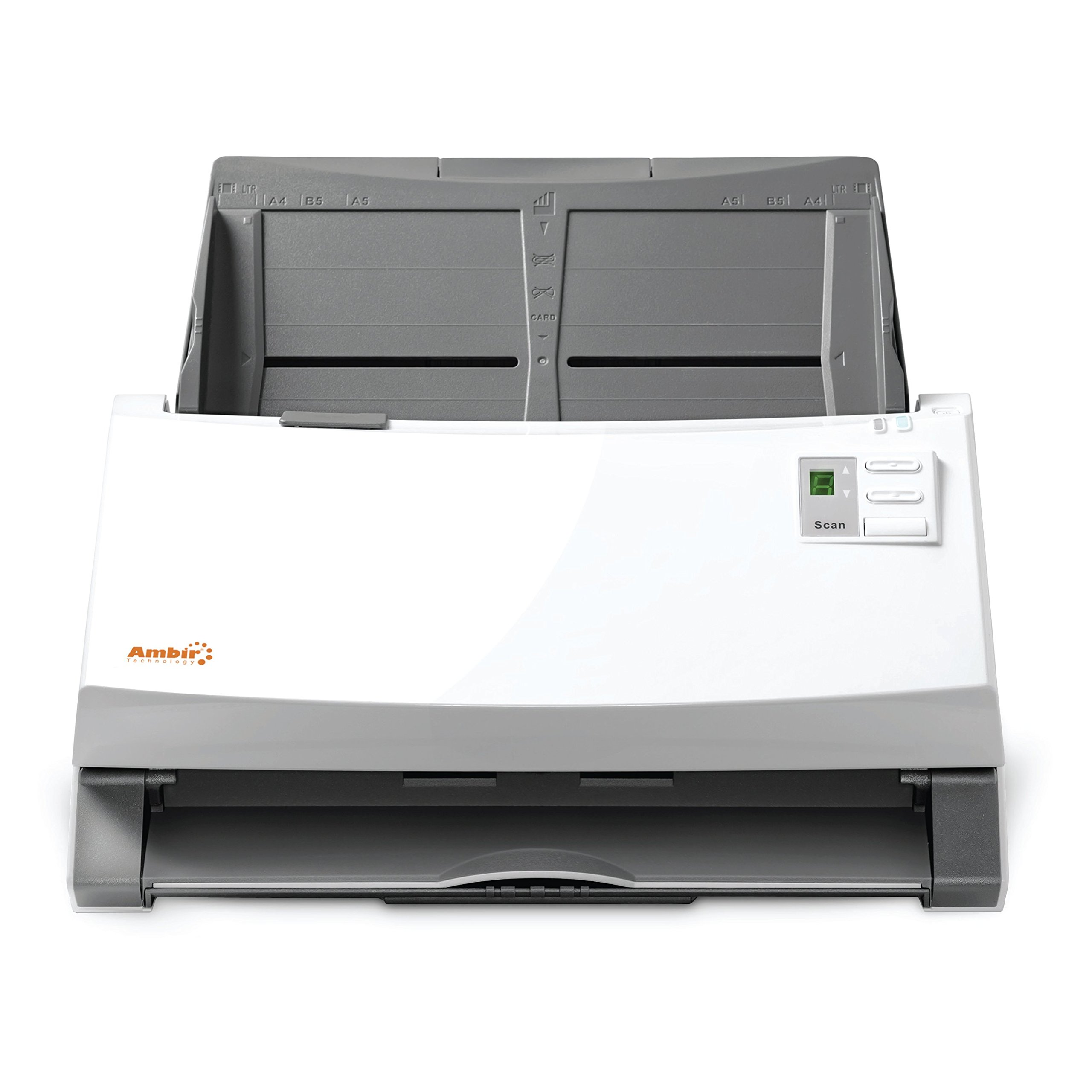 Ambir ImageScan Pro 940u (DS940-AS) 40ppm High-Speed Document Scanner with UltraSonic Misfeed Detection by Ambir (Image #2)