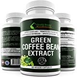 ★ EXTREME GREEN COFFEE BEAN EXTRACT WITH GCA ★ 1600mg Daily - NON-GMO Formula – Extreme 100% Natural Weight Loss Capsules – Fast Acting Weight loss - Dr Rated 5 Star