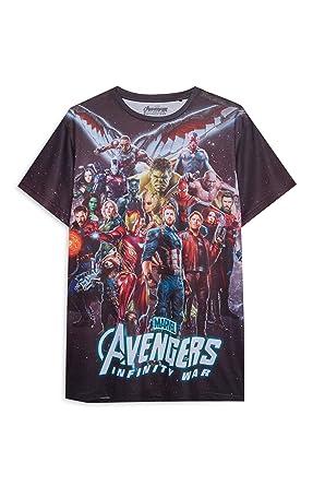 Primark Camiseta - para Hombre Multicolor XX-Large: Amazon.es: Ropa y accesorios