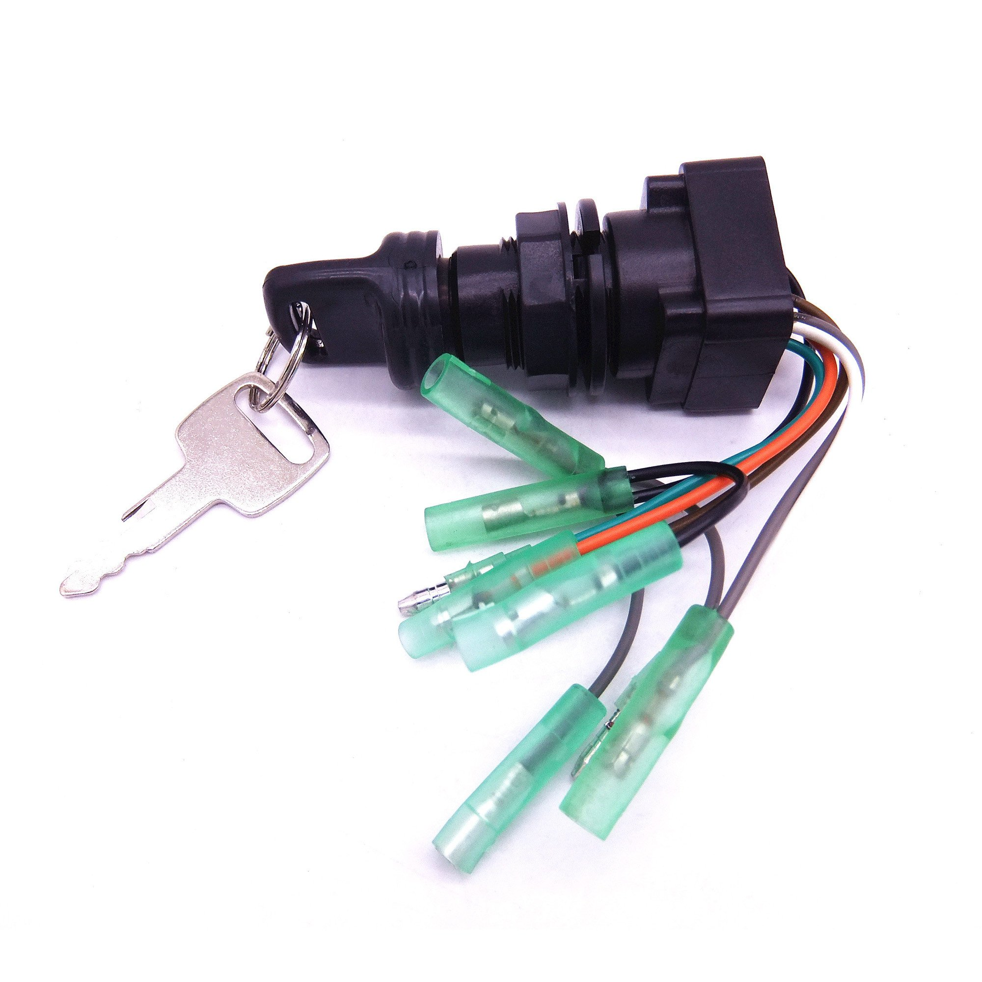 SouthMarine 37110-92E01 37110-99E01 37110-99E00 Boat Motor Ignition Switch Assembly for Suzuki Outboard Motor by SouthMarine