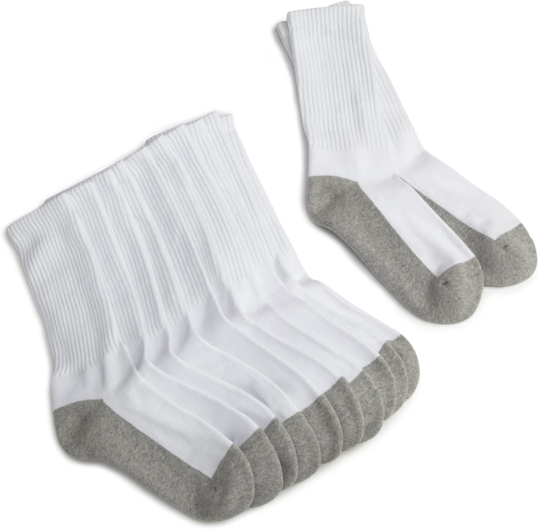 Jefferies Socks School Uniform Seamless Turn Cuff Anklet Socks 6 Pair Pack