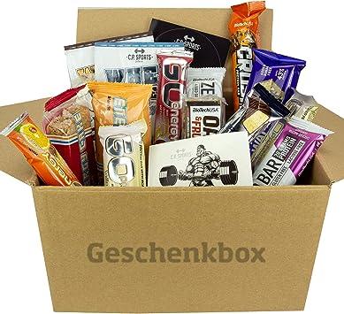 BioTech USA - Multipower Power Pack - Energy Cake RIEGEL & SNACK Mix Box/Probier Set/Probar/Testpaket - 20 Artículo - Whey proteína energía Zero Bar
