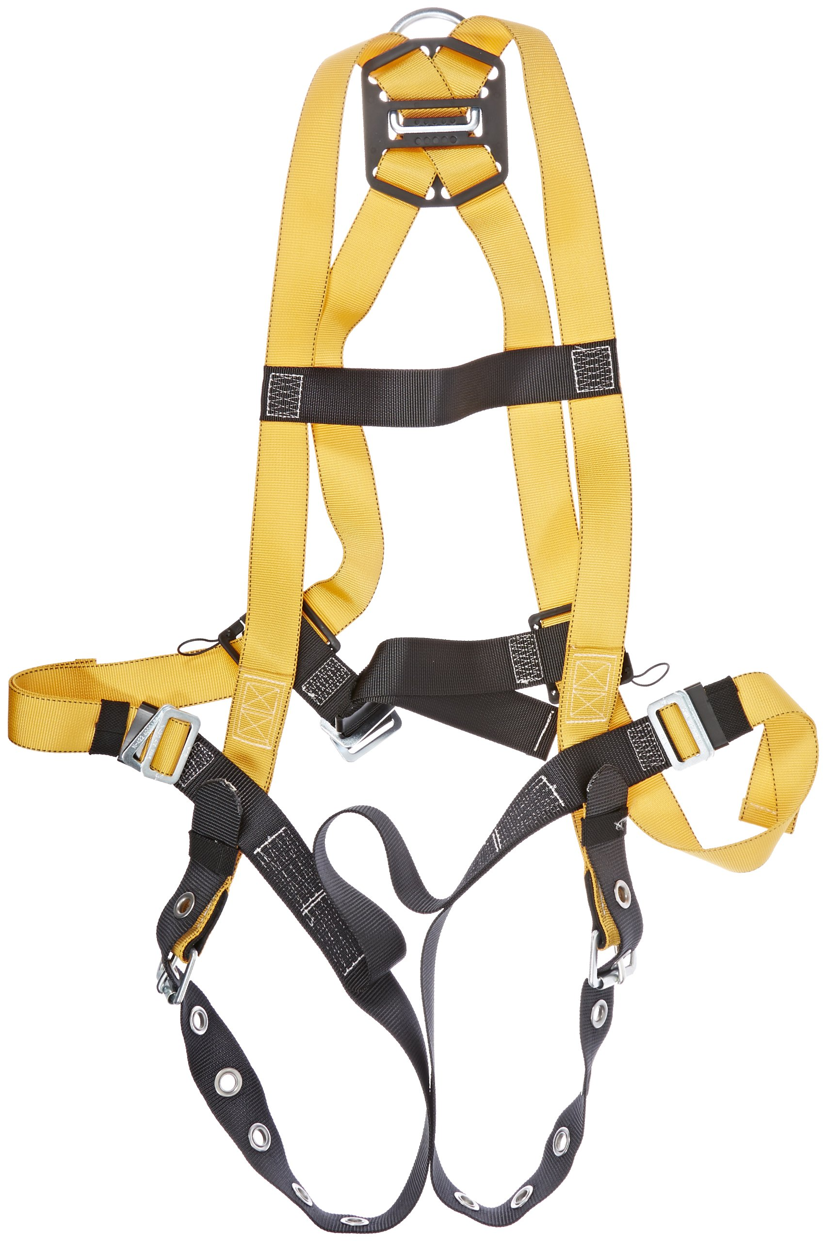 Miller Titan by Honeywell T4500/XXLAK Non-Stretch Harness with Tongue Buckle Legs, XX-Large