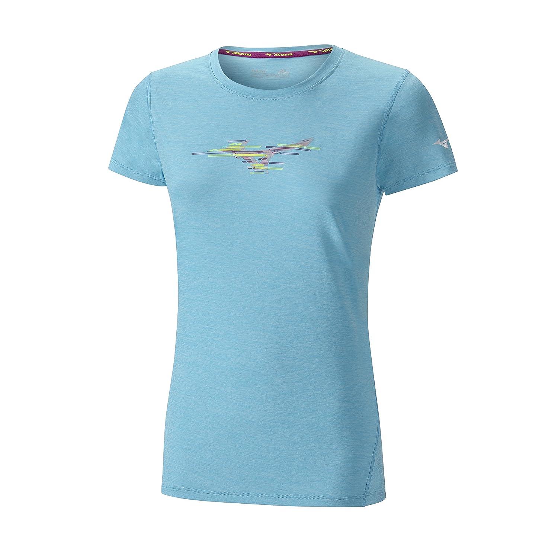 Mizuno T-Shirt Femme Impulse Core Graphic: Amazon.es: Deportes y ...