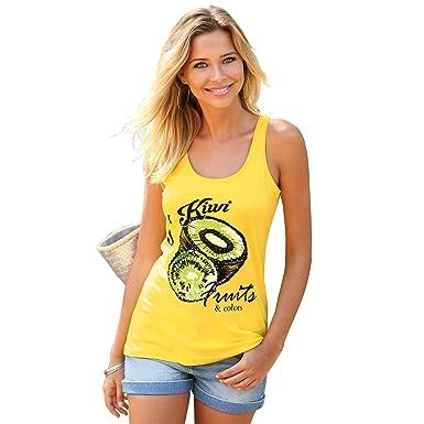 VENCA Camiseta de Tirantes Mujer by Vencastyle - 009847: Amazon.es: Ropa y accesorios