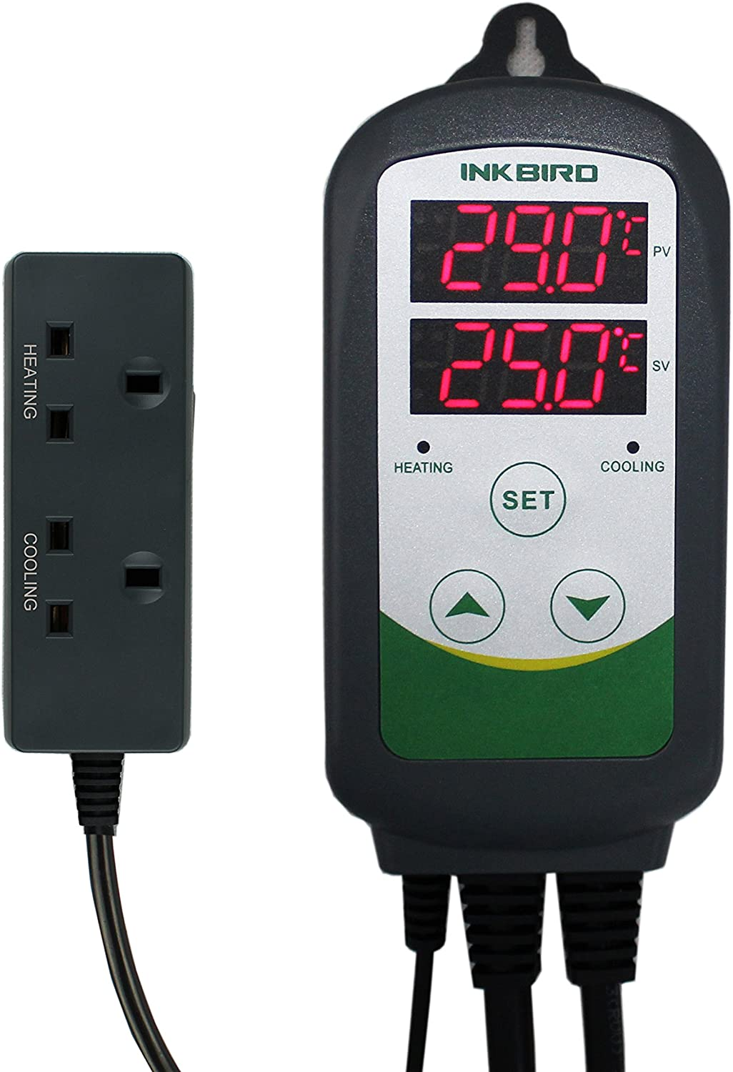 Inkbird Digital Wired Temperature Controller Timer Cycle Setting Brew Greenhouse