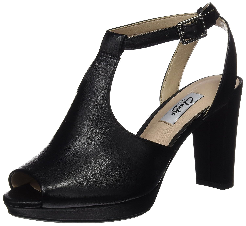 fc94e0c19b3 Clarks Women s Kendra Charm Ankle Strap Pumps  Amazon.co.uk  Shoes ...