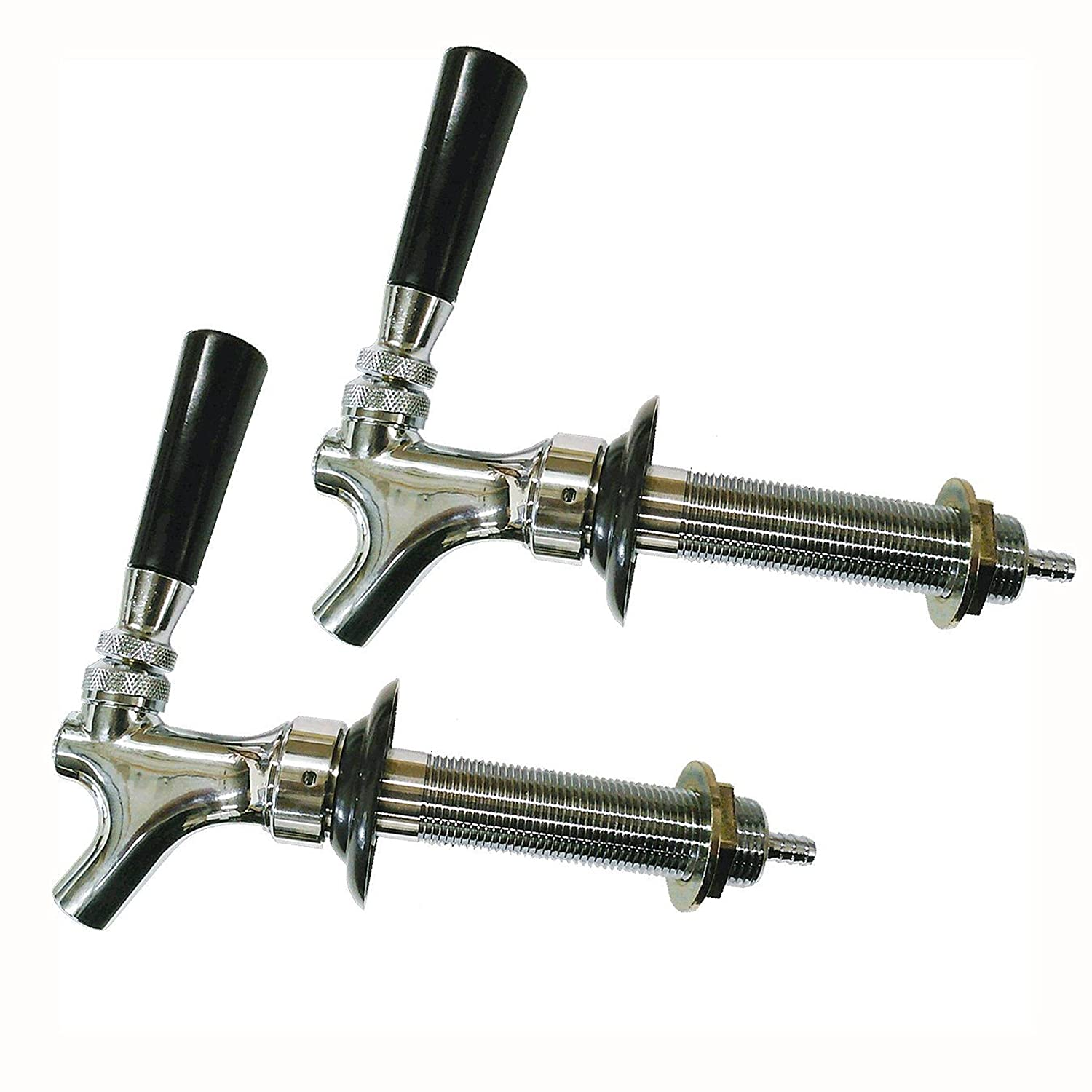 Amazon.com: HomeBrewStuff Chrome Draft Beer Faucet and 4 1/2 ...