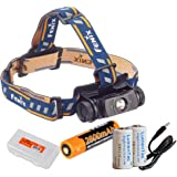 Fenix HL60R 950 Lumens (Black or Desert Yellow Finish) Rechargeable LED Headlamp with Rechargeable Battery, USB Charging…