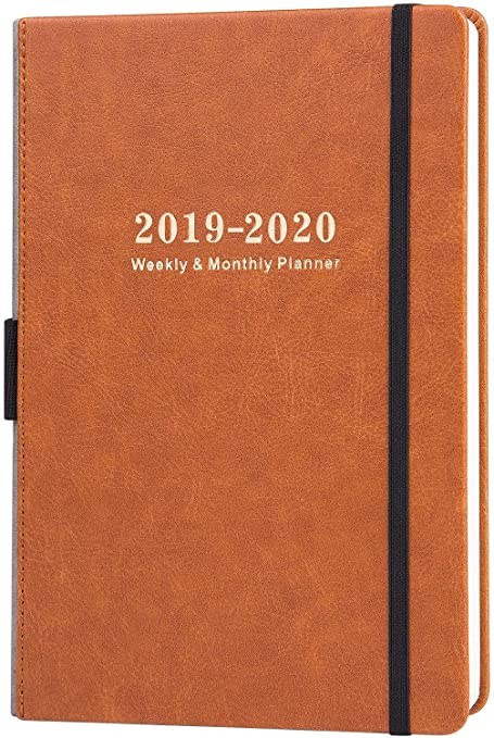 399eb1e37db 2019-2020 Academic Planner - Weekly & Monthly Planner with Calendar  Stickers, A5 Premium