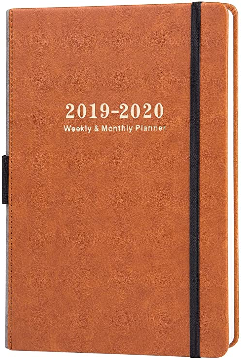 Calendario Premier 2020.2019 2020 Academic Planner Weekly Monthly Planner With Calendar Stickers A5 Premium Thicker Paper With Pen Holder Inner Pocket And 88 Notes