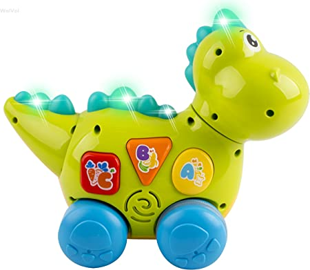 Learning Activity Teaching Walking /& Fun Action YoSpot Talking Dinosaur Toy with Lights and Sounds for Kids