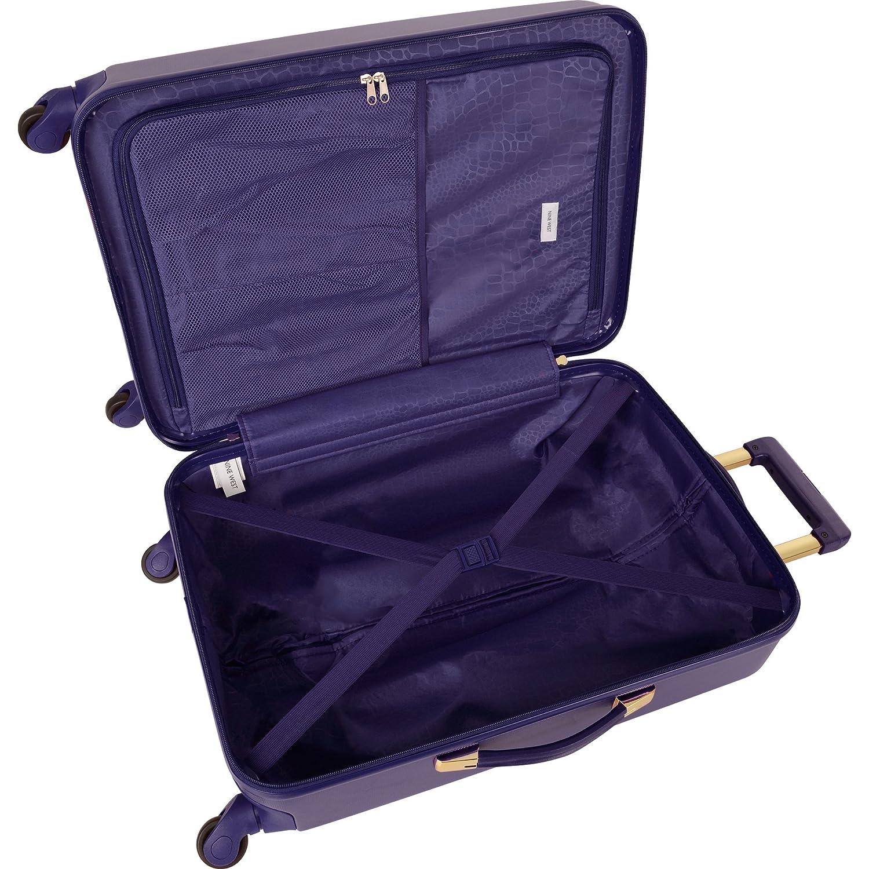 Ninewest 3 Piece Hardside Spinner Luggage Set Smokey Purple Randa luggage 3790P06