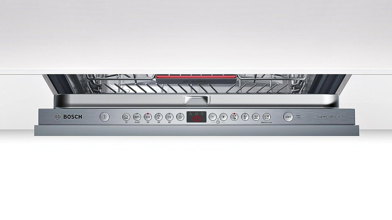 Bosch Serie 4 SBV46MX03E Totalmente integrado 14cubiertos A++ lavavajilla - Lavavajillas (Totalmente integrado, Tamaño completo (60 cm), Acero ...