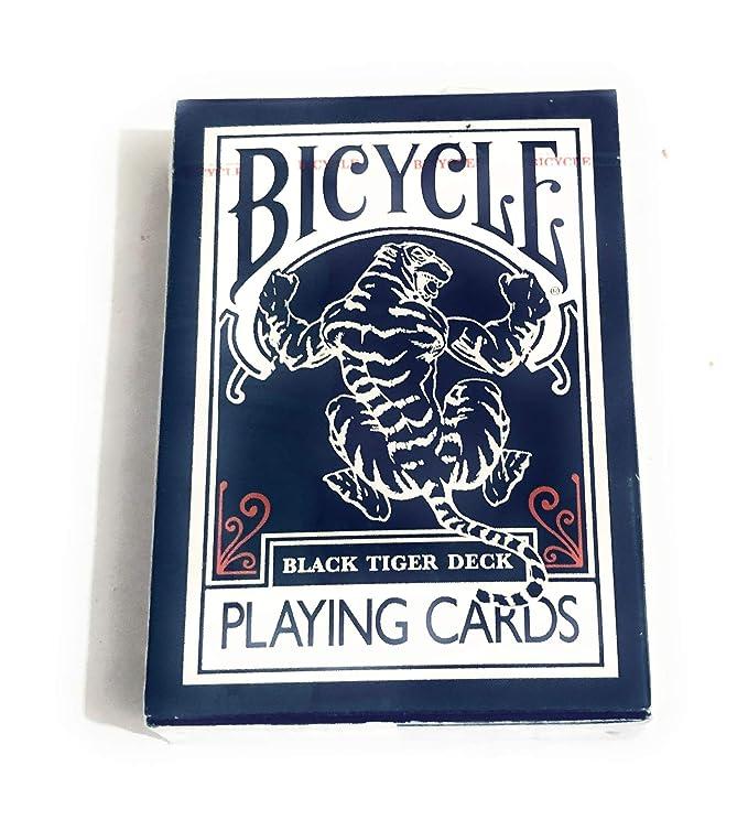 Bicycle Black Tiger Deck Naipes Por Ellusionist – rojo Pipp