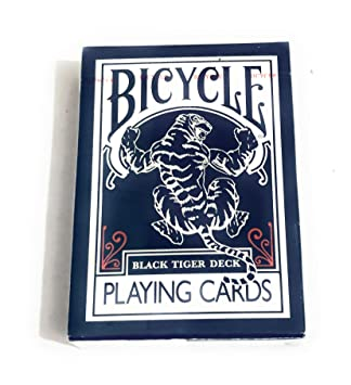 Bicycle Black Tiger Deck Naipes Por Ellusionist – rojo Pipp