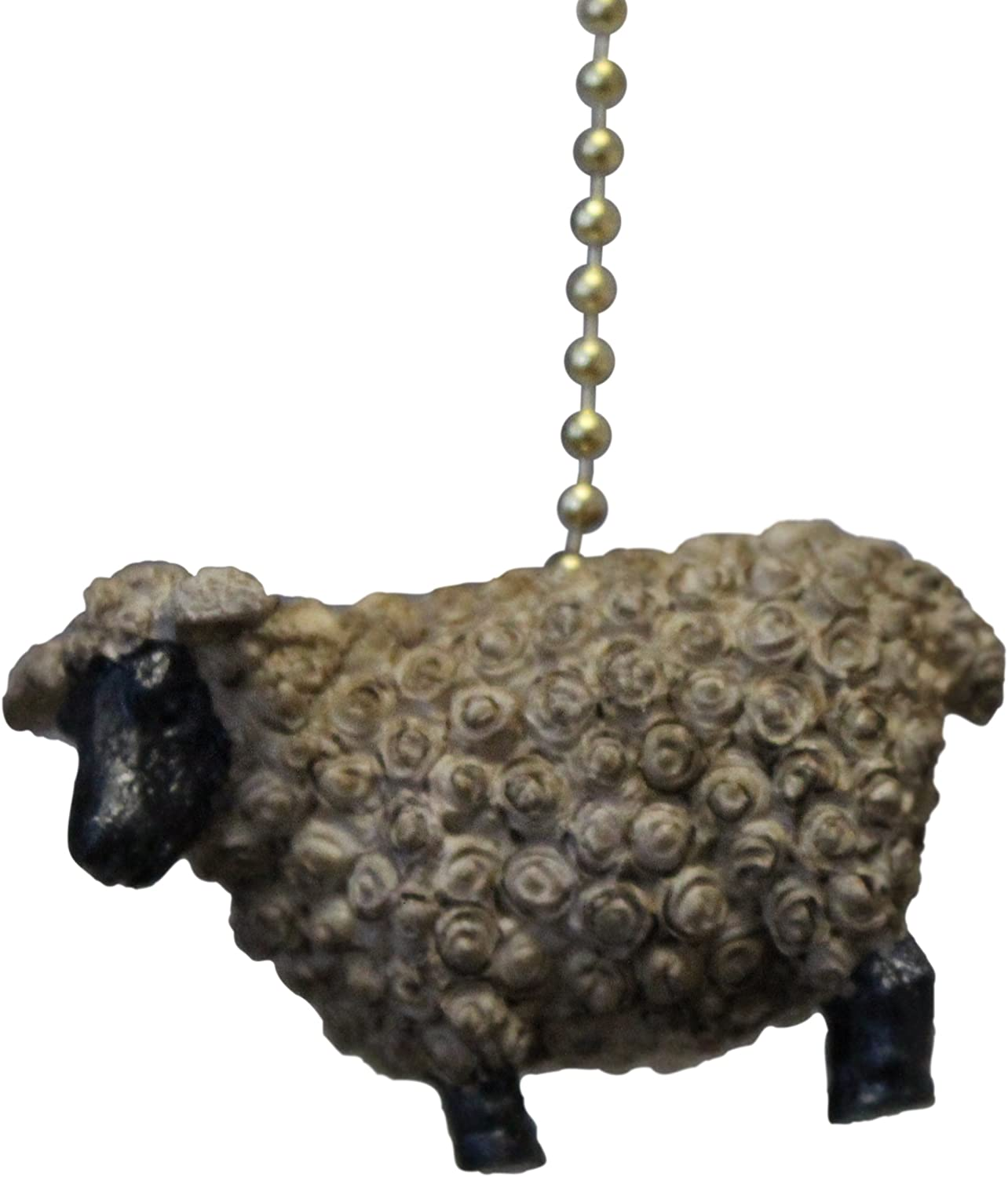 Suffolk Sheep Lamb Ceiling Fan Pull or Light Pull Chain