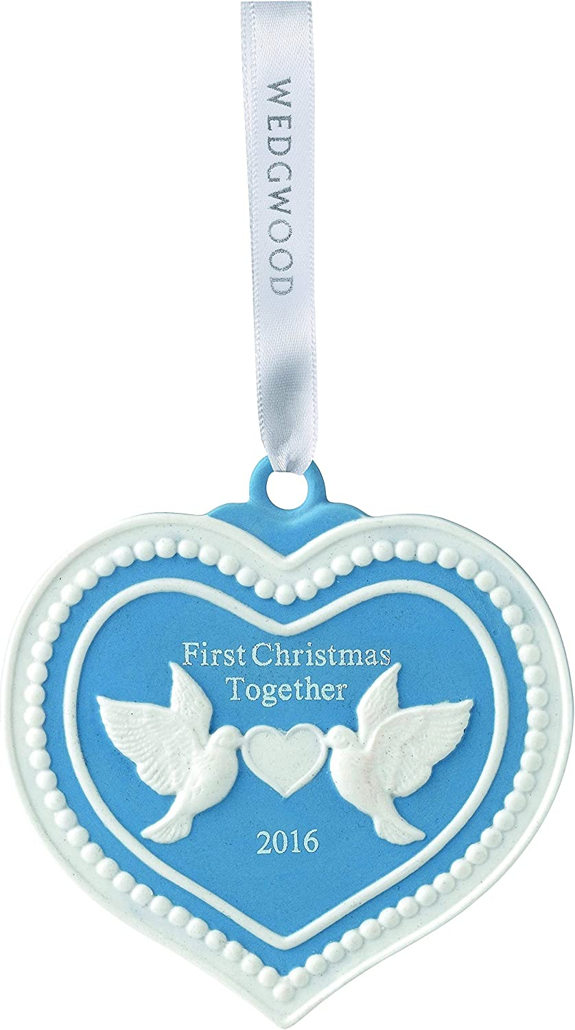 Blue WWRD 40016250 Wedgwood 2016 Our 1st Christmas