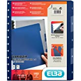 ELBA 100420935 Ringmappen-Register manageMe! mit vario-zipp-Prinzip A4 1 - 5 5-teilig dunkelblau