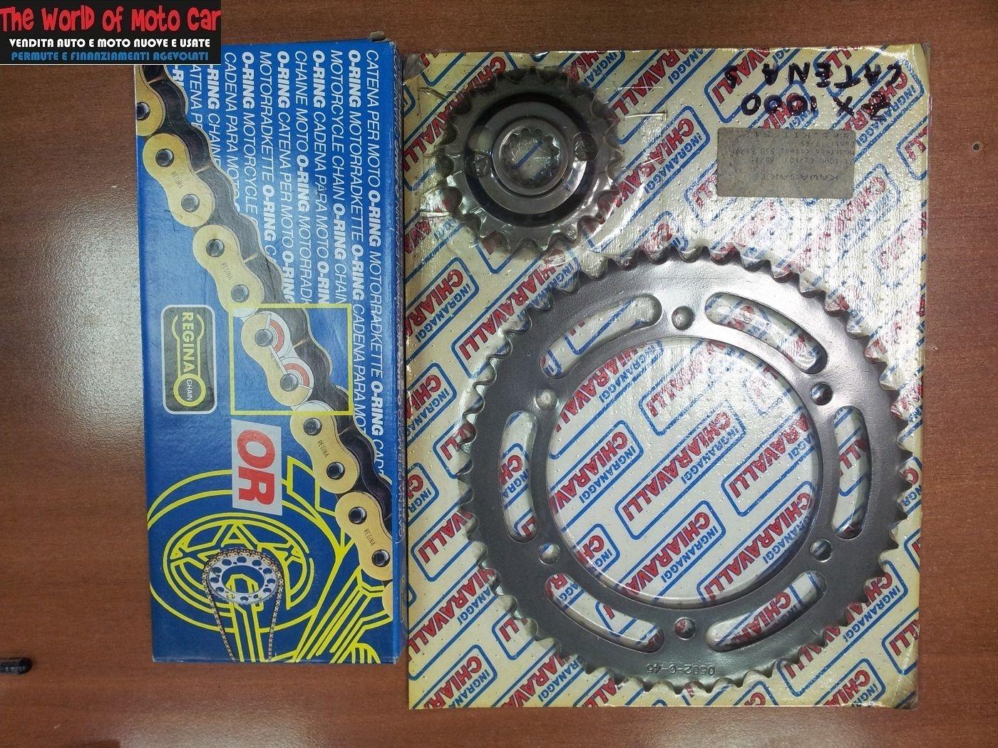 Catena O Ring Ox Ring.Kit X Ring Chiaravalli Chain 530 Ort Kawasaki Zxr Zx 1000 88 91