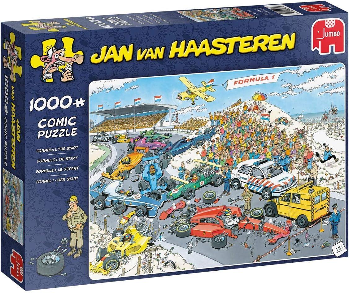 Jumbo 19093 Jan Van Haasteren-The Start 1000 Piece Jigsaw Puzzle
