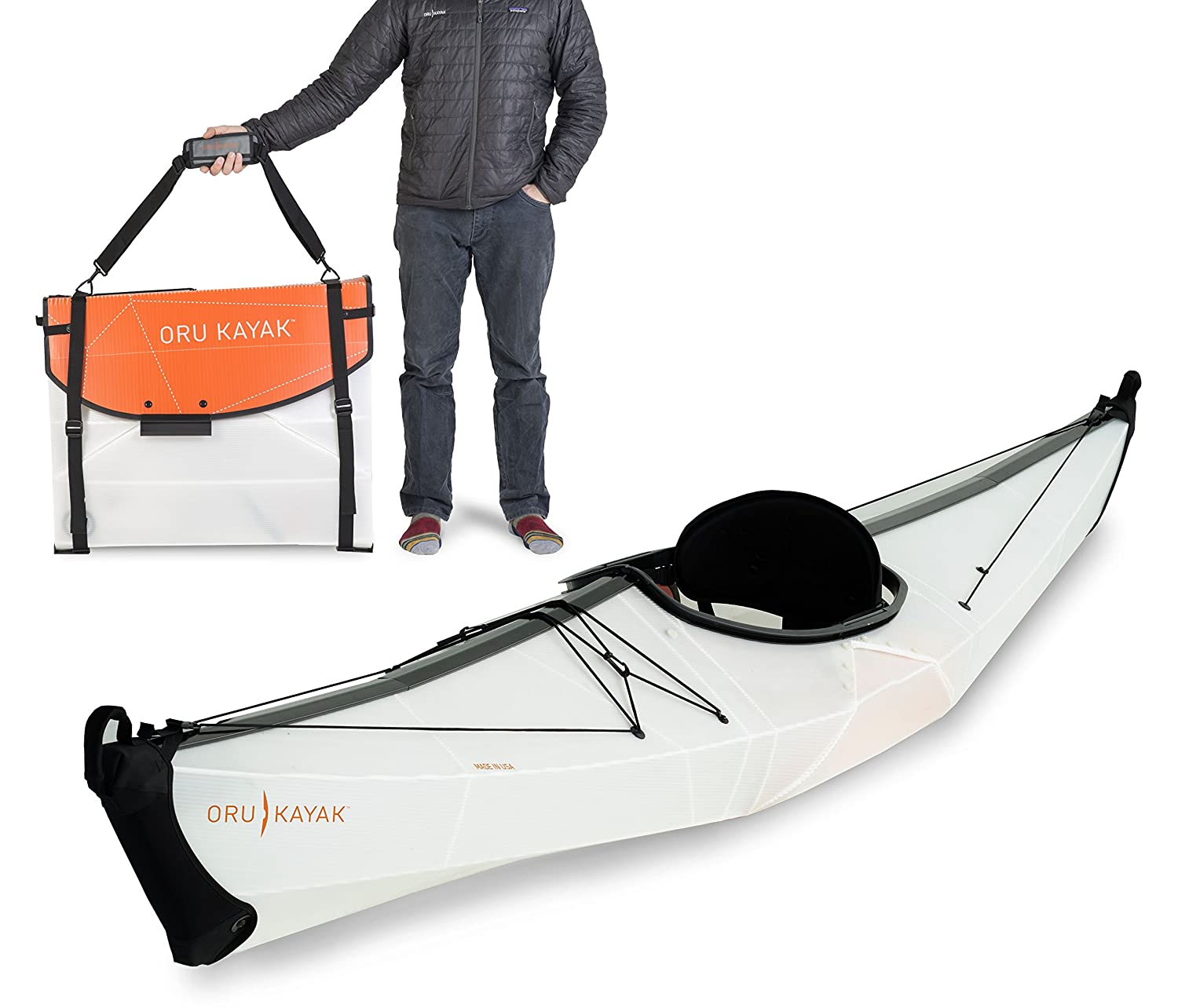 Oru Kayak BayST Folding Portable Lightweight Kayak