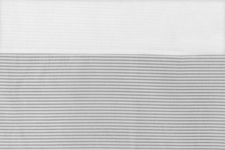 Vizaro C Bleu Et Blanc MATELAS /À LANGER REMBOURR/É 70x75 cm Fabriqu/é UE pas de substances nocives 100/% COTON