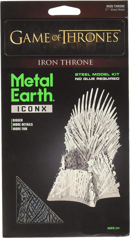 Professor PUZZLE Got Metal Earth, Trono de Hierro