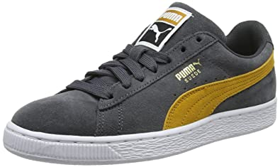1eac18678bc289 Puma Suede Classic Iron Gate-Buckthorn Brown-  Amazon.in  Shoes ...