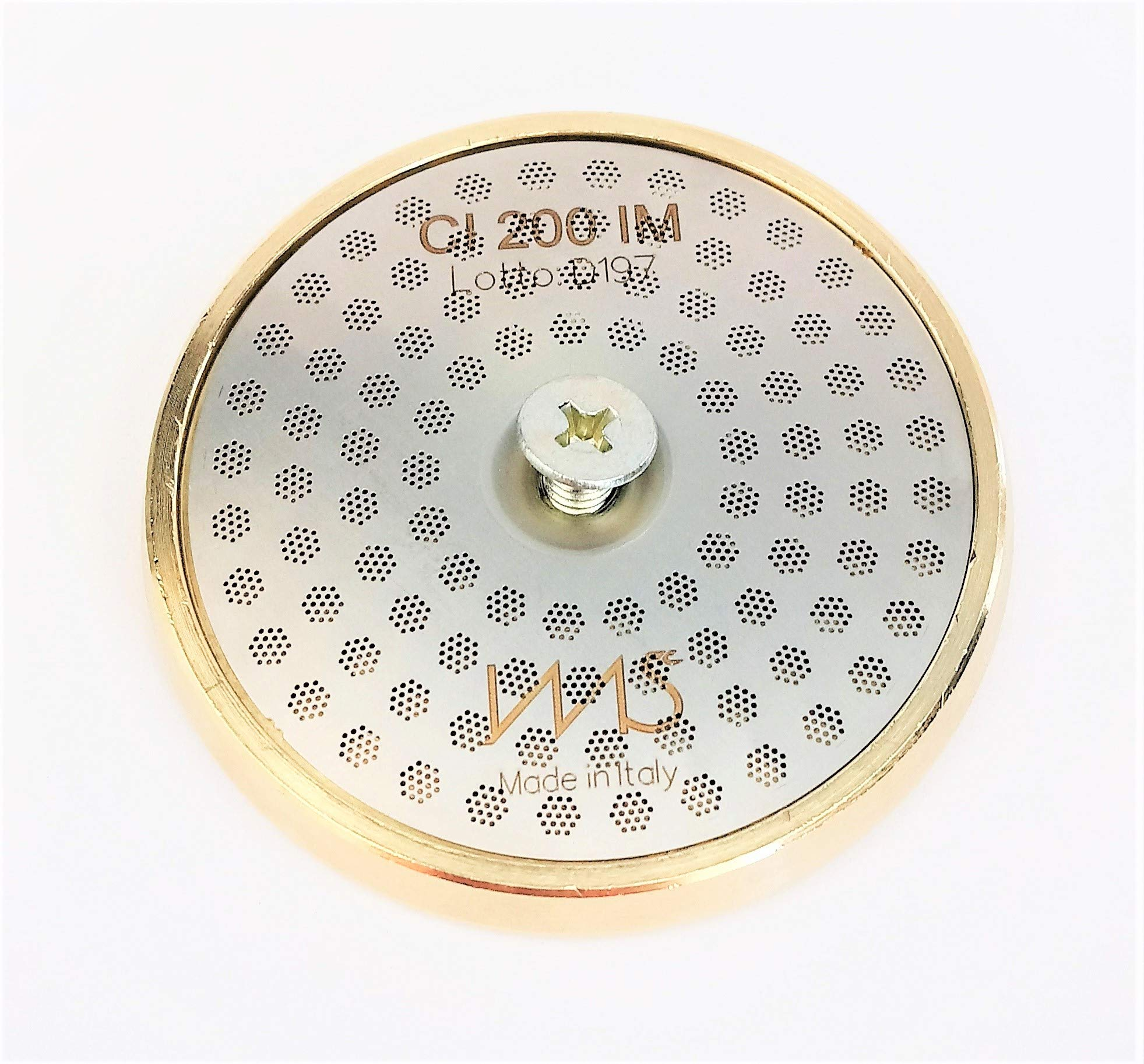 Breville shower screen and inner holder. Custom tune up kit for 58mm Breville BES900XL BES920XL BES980XL. IMS Precision Shower Screen and Brass inner holder by VeryBarista (Image #1)