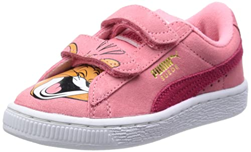 0ad0b374b8a Girl s Suede T J Jerry V Kids Salmon Rose-Virtual Pink Leather Chinese Shoes  - 2