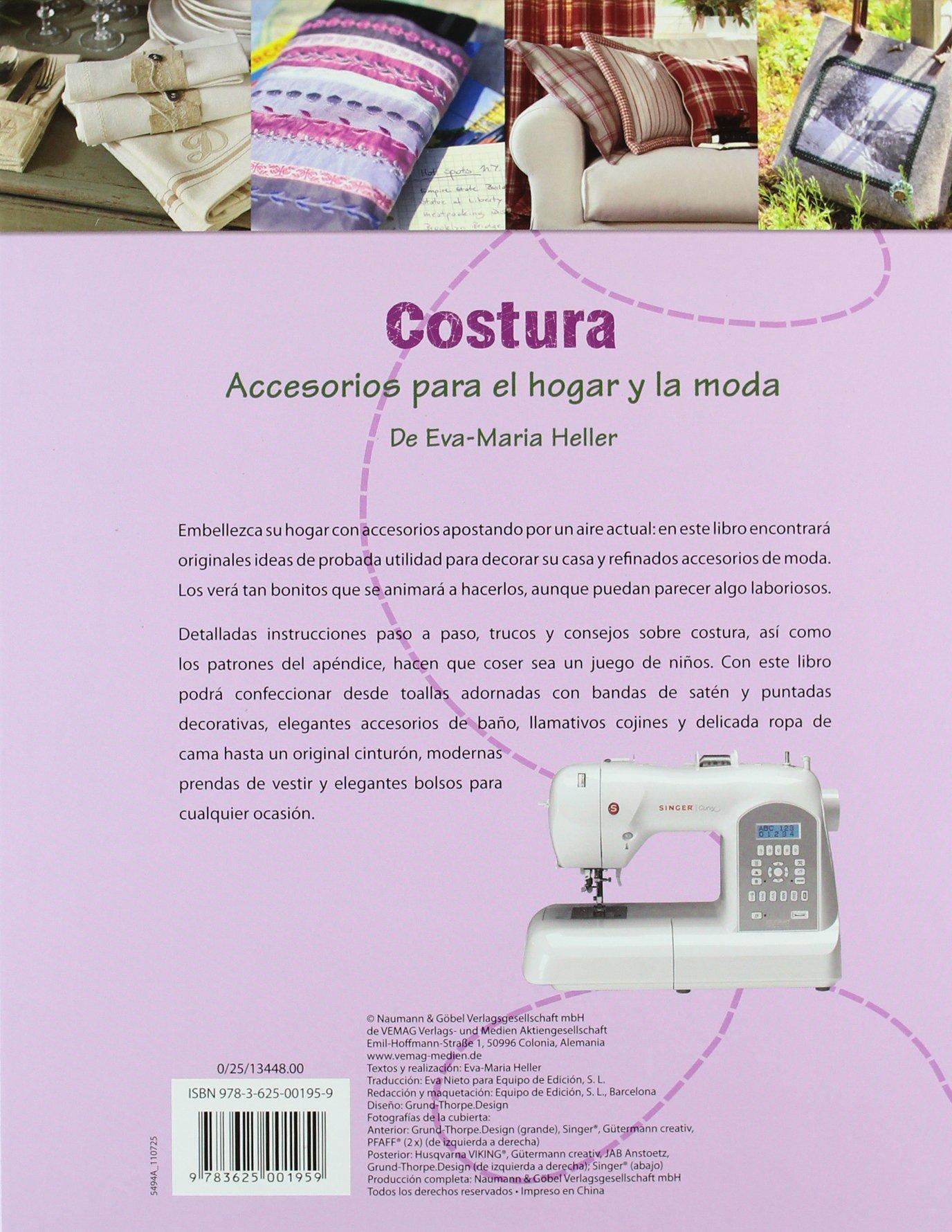 COSTURA:ACCESORIOS HOGAR Y MODA: Varios: 9783625001959: Amazon.com: Books