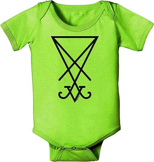TooLoud Single Left Dark Angel Wing Design Couples Baby Romper Bodysuit