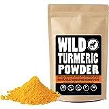 Raw Turmeric Powder Made from Organically Grown Turmeric, Fair Trade, Single-Origin Bulk Ground Turmeric Root Powder (8 ounce)