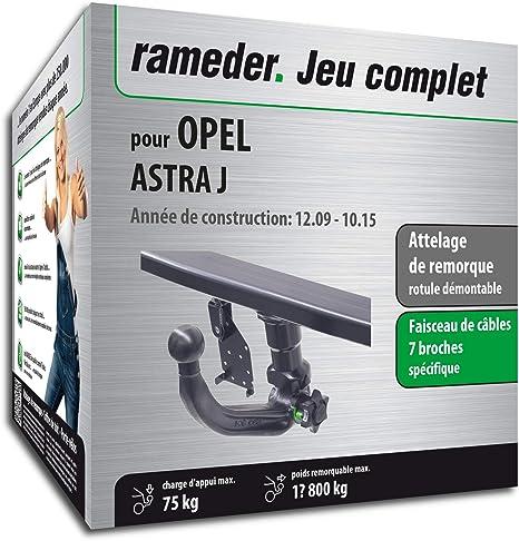 Acople extraíble para Opel Astra J + haz 7 pines (144236 – 08261 – 1
