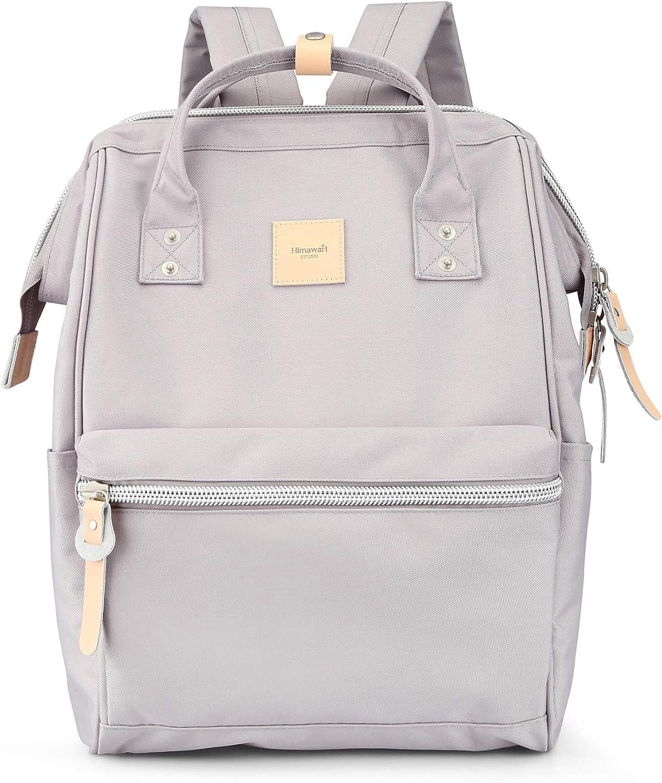 Himawari Laptop Backpack Travel Backpack With USB Charging Port Large Diaper Bag Doctor Bag School Backpack for Women&Men (1881-HZ)
