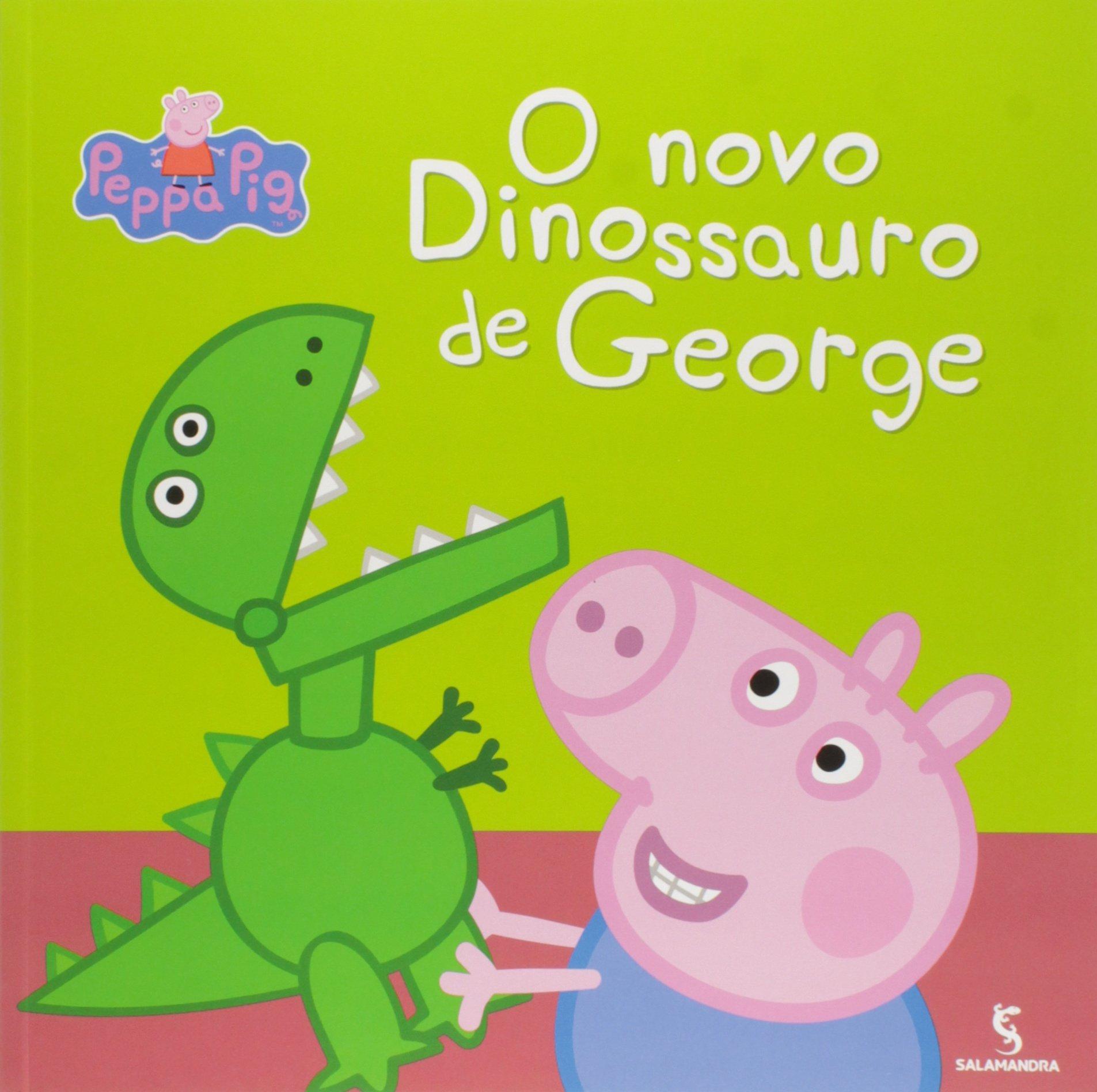 O Novo Dinossauro De George Colecao Peppa Em Portuguese Do