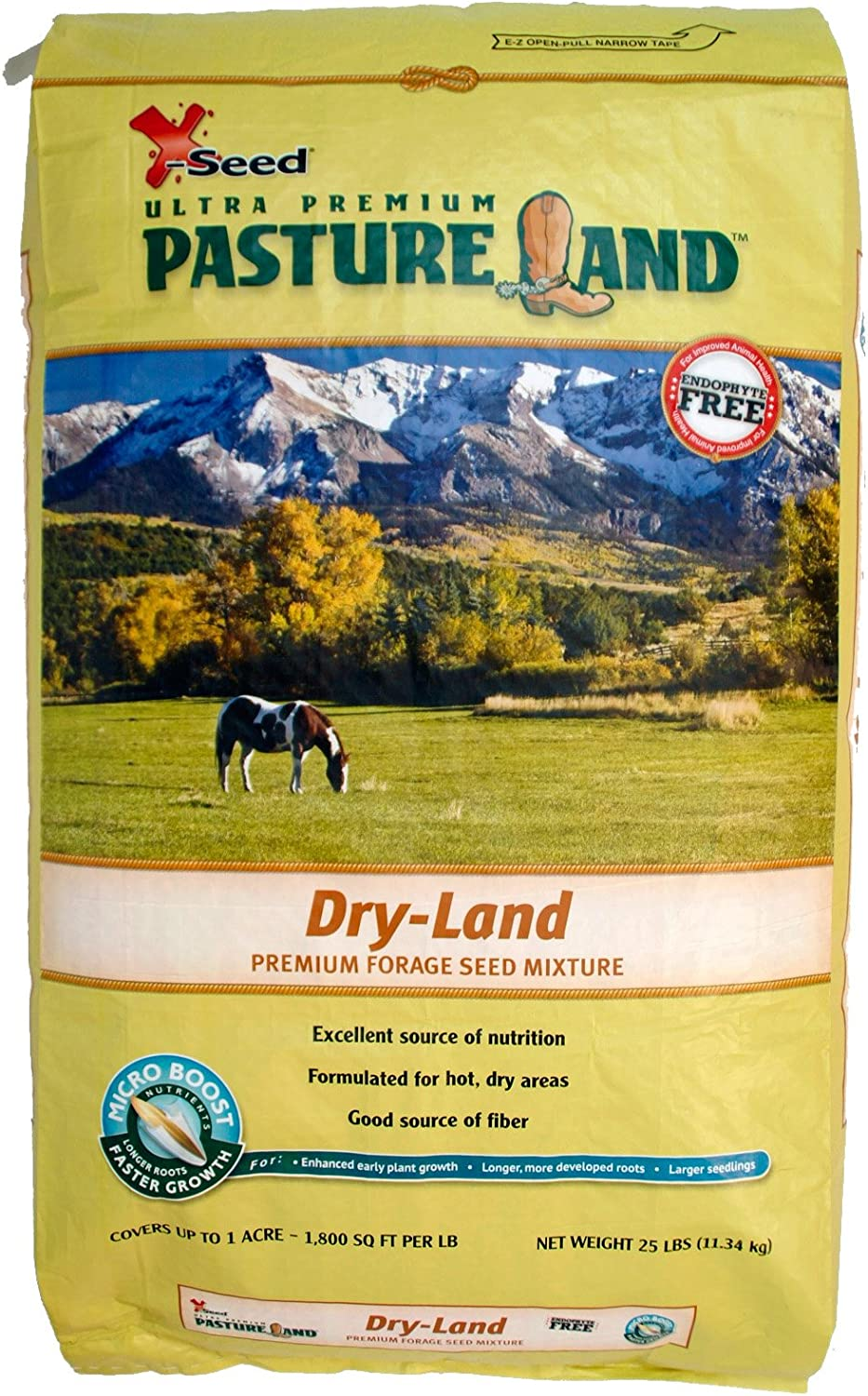 25-Pound X-Seed 440FS0010UCT185 Dry-Land Mixture Pasture Forage Seed