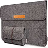 "Inateck 15,4"" Macbook Pro Retina Filz Sleeve Hülle Ultrabook Laptop Tasche Speziell für Apple Macbook pro 15,4 Zoll entworfen Dunkelgrau"