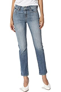 bbb56538de2 TheMogan Junior's Sleek Slimming Mid Rise Slim Kick Flare Cropped Boot Cut  Jeans