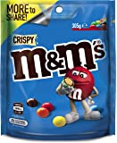 M&M's Crispy Chocolate, Large Bag (305g) (Packaging may vary)