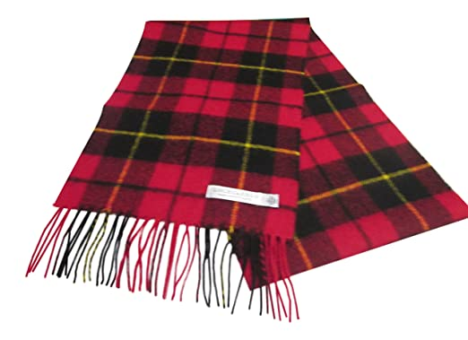 d0f0cd71cab5 MADE IN SCOTLAND - Echarpe - Femme Rouge, noir, jaune Taille unique ...