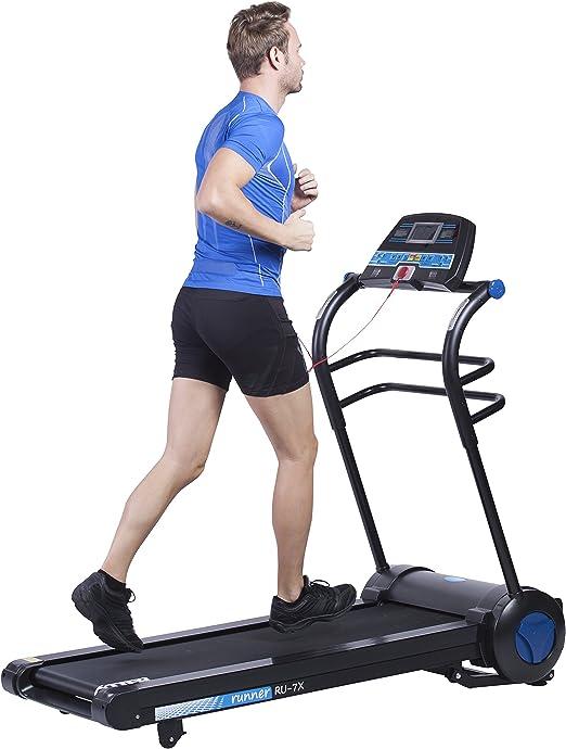 Cinta de correr ultraplegable Fytter Runner RU-7X con motor de 3CV ...