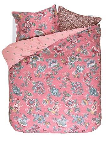 Pip Studio Bettwäsche Berry Bird Pink 155 X 220 Amazonde