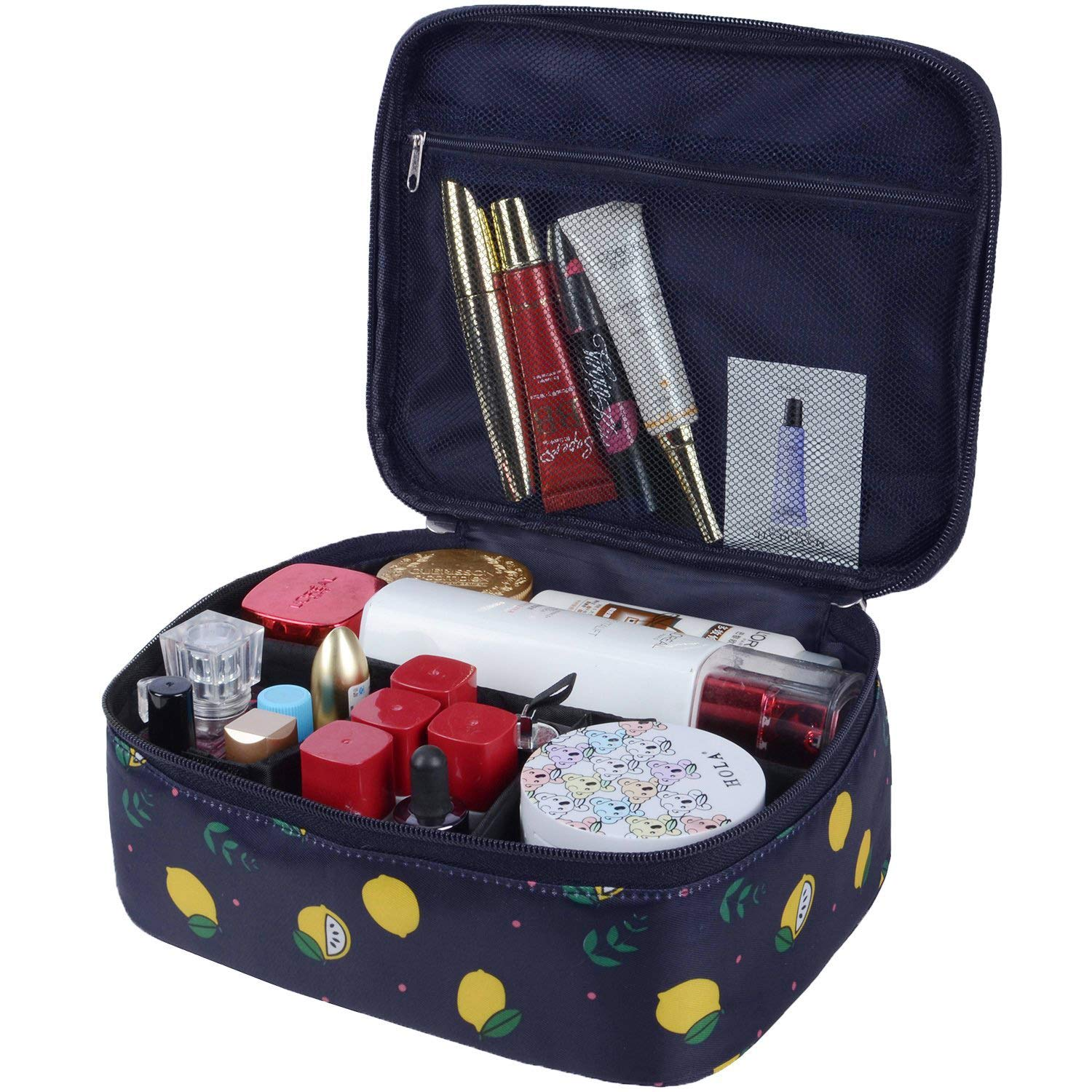 Portable Travel Makeup Cosmetic Bags Organizer Multifunction Case Toiletry Bags for Women (Color 50)