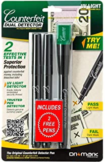 Amazon Com Counterfeit Money Detector Pen Bill Marker Fake Note