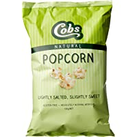 Cobs Natural Lightly Salted and Slightly Sweet Popcorn, 12 x 120 Grams
