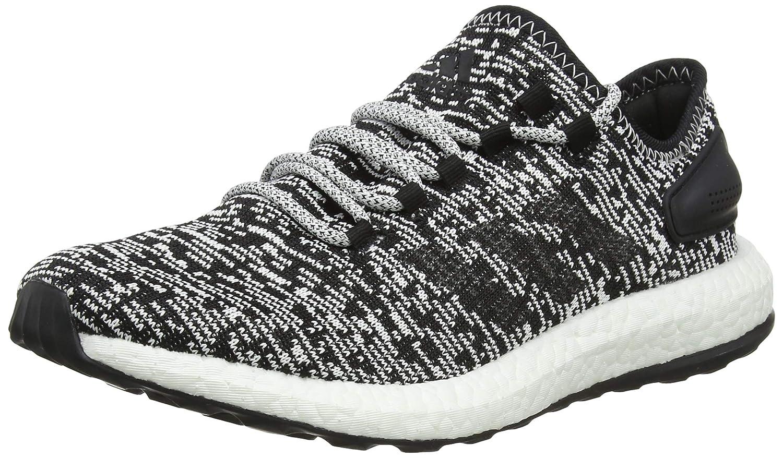 Adidas Hombre Pureboost Zapatillas Running - Core Black Blanco ba8890, 6.5 UK/40 EU/7 US