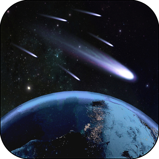 Animated wallpapers comet - Wallpaper Animated